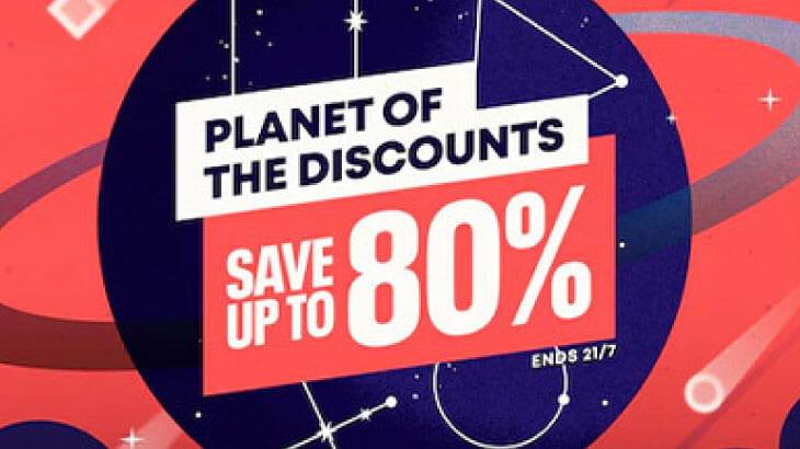 最大80%オフ!PS4/5のゲームがお得に買える「Planet of The Discounts Sale」終了まであと一週間!